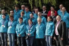 Équipe des «Special Olympics Luxembourg» a été honoré par le Ministre des Sports